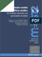 ciencias sociale sy polìticas sociales