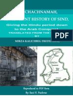 The Chachnamah; Ancient History of Sindh