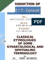 CLASSICAL ETYMOLOGIES