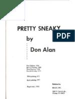 Alan, Don - Pretty Sneaky