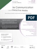 Corporate Communication via Interactive Media