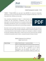 1a Projeto Pioneiro Gabriel Nascimento de Carvalho