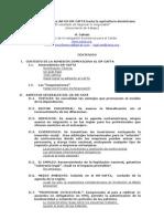 Posibles Impactos del US-DR-CAFTA hacia la agricultura dominicana