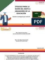 Protocolo de atención ISSSTE Riesgos de Trabajo Sección 23 SNTE