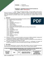 Edital 13-2020 Propex IFS - PBIEX