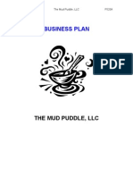 Mud Puddle Business Plan