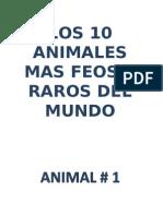 Animales Raros