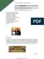 Prova Psicólogo - Prefeitura de Divinolândia (SP) - Banca CONSULPAM
