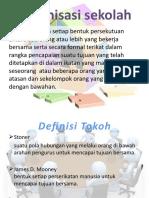 Organisasi sekolah