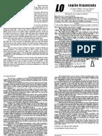 Décima Quarta Edição do Jornal da LO