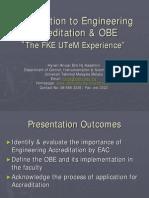 Accreditation & OBE