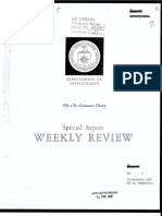 CIA report on Che Guevara's Bolivian Diary