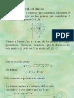 Ecuacion general de la circunferencia