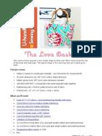 Love Basket FREE PDF