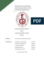 Informe de Extracción Líquido Líquido