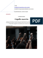 El Perú es un país racista