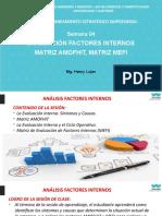 S-04 Evaluación Interna - Analisis MEFI