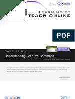Understanding Creative Commons - Case Study