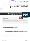 Managing your time when teaching online