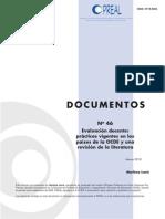 PrealDoc46OK evaluacion docente. practicas vigentes en los paises ocde y una revision de la literatura.