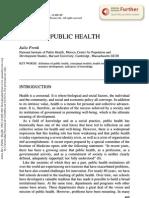 La nueva salud publica