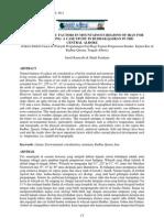 EFFECTIVE CLIMATIC FACTORS IN MOUNTAINOUS REGIONS OF IRAN FORURBAN PLANNING A CASE STUDY IN RUDBAR QASRAN IN THECENTRAL ALBORZ
