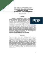 Teknometrik IKM Kimia