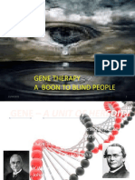 Gene Theraphy - A Boon to Blind People