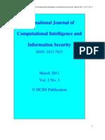 IJCIIS March 2011 Vol. 2 No. 3