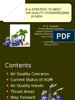 APPROACH & STRATEGY TO MEET NEW AMBIENT AIR QUALITY STANDARD(2009) IN INDIA