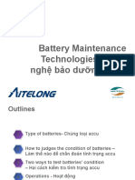 Battery Maintenance Technologies