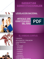 Presentacin GARANTIAS Constitucionales
