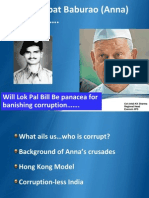 Will Lok Pal Bill Be Panacea for Banishing Corruption