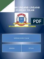 Perbezaan Undang-Undang dan Syariah Islam