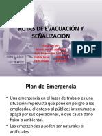Rutas de Evacuación y Señalización
