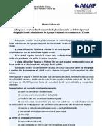 Indreptarea Erorilor Din Documentele de Plata Intocmite de Debitori Privind Obligatiile de Plata
