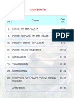 Power Policy of Meghalaya