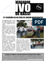 Informe Legislativo - Vereador Ivo de Bassi - abril 2011