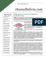 Hidrocarburos Bolivia Informe Semanal Del 11 Al 17 Abril 2011