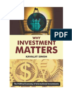 Why Investment matters