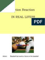 action reaction presentation
