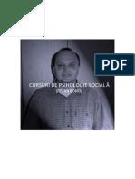 Ştefan Boncu - Cursuri de psihologie socială