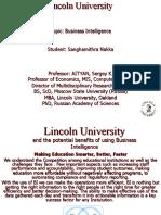 Lincoln University BI
