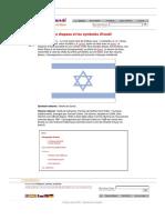 Drapeau Et Symboles d'Israël.