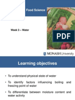 week 3 - water