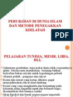 Perubahan Dunia Islam