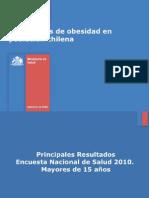 estadistica nacional sobrepeso obesidad chile 2010
