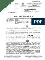 Aviz Provizoriu de Refuz AGEPI