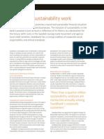 Swedbank Sustainability Report 2010