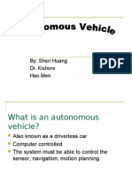 Autonomous Vehicle